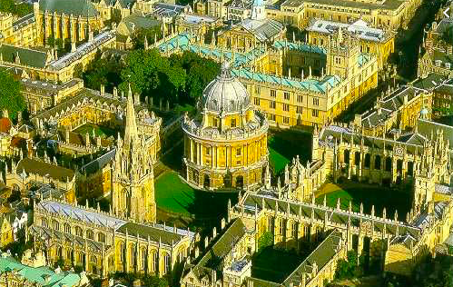 "Oxford and Its ""Dreaming Spires"""